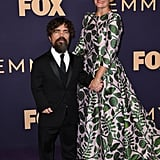 Peter Dinklage and Erica Schmidt at the 2019 Emmys