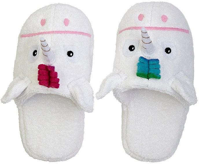 Yikes Twins Unicorn Slippers