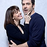 Touchy Feely costars Rosemarie DeWitt and Ron Livingston got a little, shall we say . . . touchy feely?