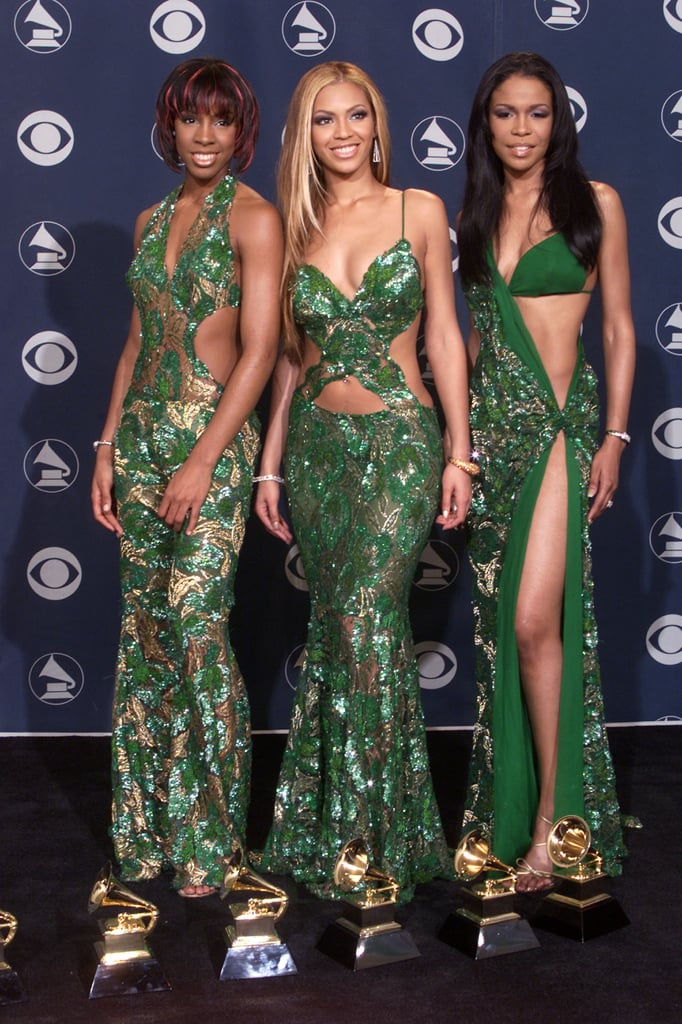 Destiny's Child Wearing Matching Outfits