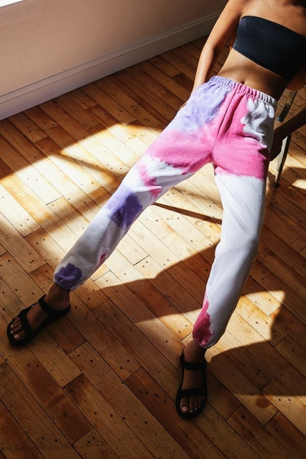 Urban Renewal Recycled Blown Out Tie-Dye Jogger Pant