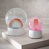 Rainbow and Popsicle Snow Globes