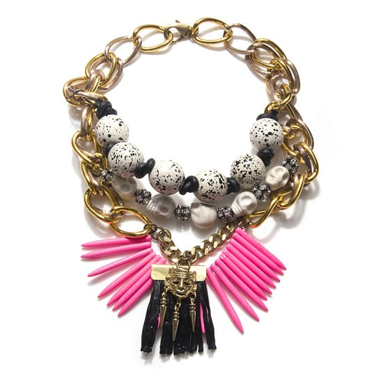 Fenton Neon Tribal Necklace, $625