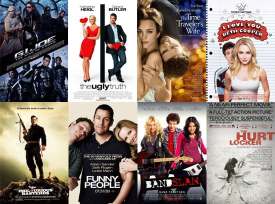 Movies Films Released in UK Cinemas in August 2009