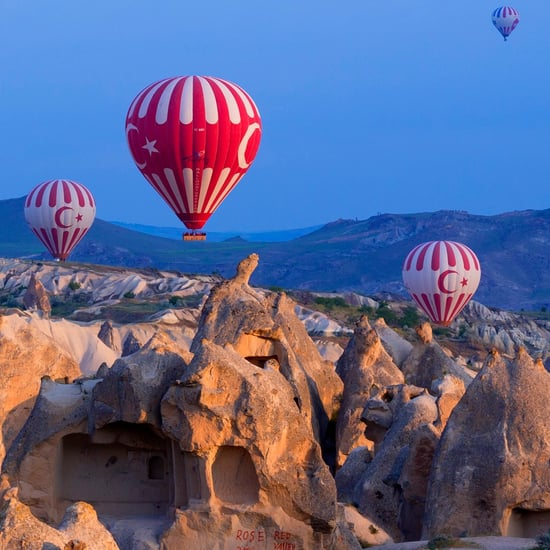 Hot-Air Balloons in Turkey (Video)
