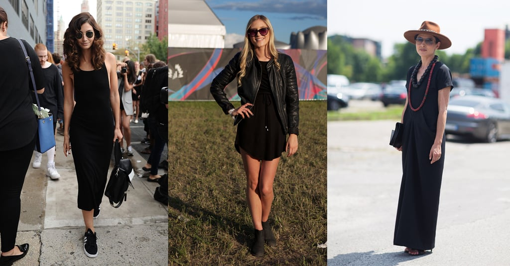5 Women Show You How to Wear the Perfect Black Dress in Any City