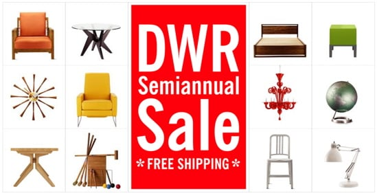Sale Alert: DWR's Semiannual Sale (With Free Shipping!)