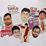 The Best of Louis Theroux Sticker Pack