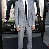 Dave was one of the guys to wear gray to the premiere.