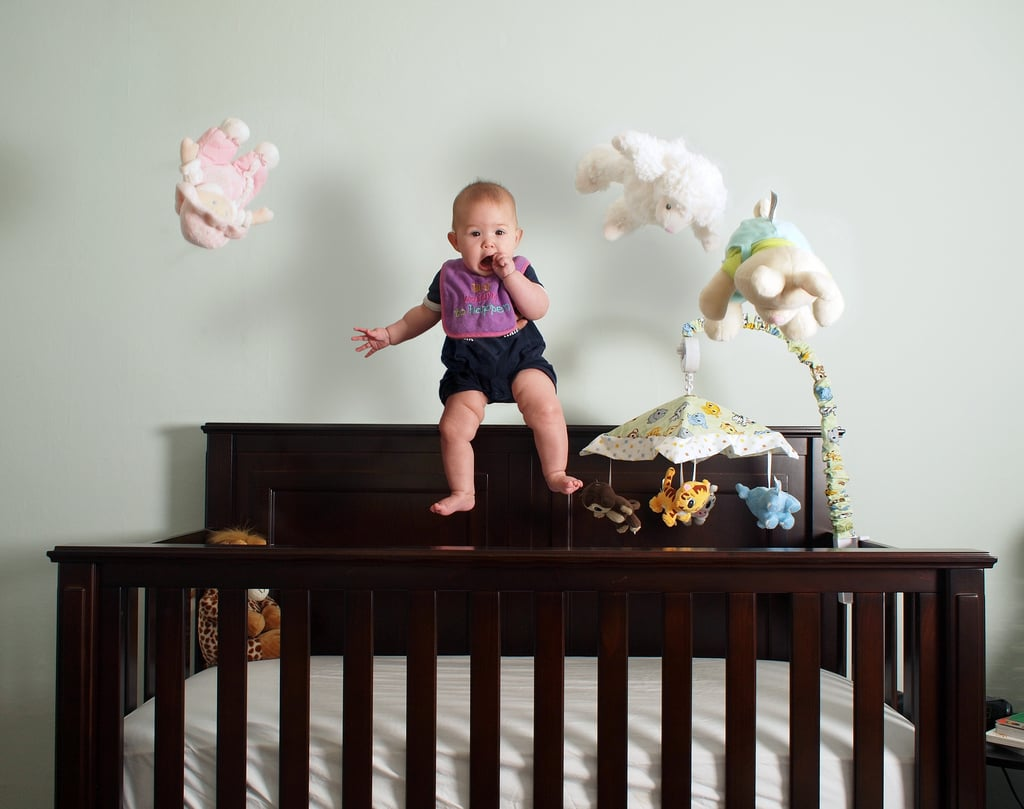 Stop Toddlers From Climbing Out Of Crib Popsugar Family