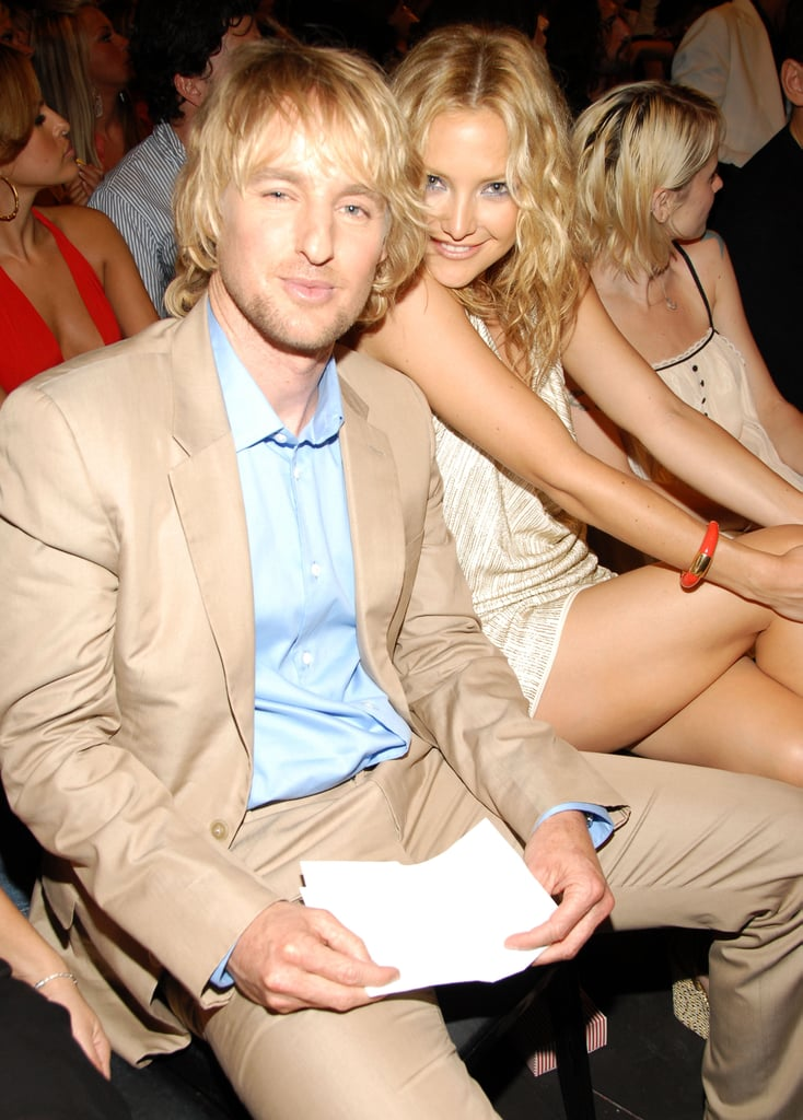 At the 2006 VMAs Kate Hudson and Owen Wilson sat side by side.