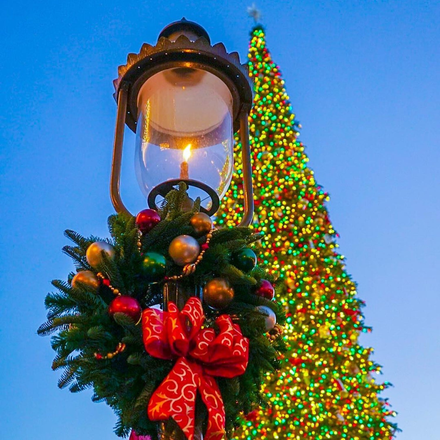 disneyland christmas decorations 2018 popsugar family