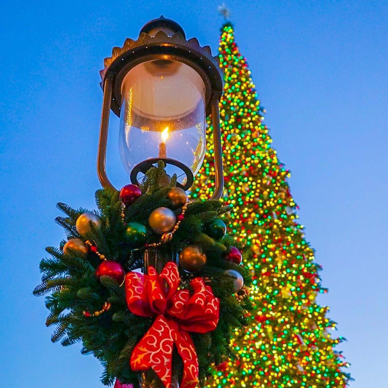 disneyland christmas decorations 2018 popsugar family