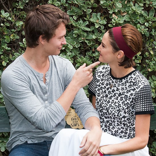 Ansel Elgort and Shailene Woodley Recreate TFIOS Bench Scene
