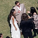 Caleb Followill and Lily Aldridge tied the knot in LA in May 2011.