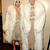 Kim and Kris Jenner