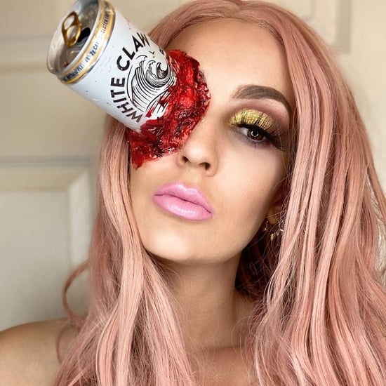 White Claw Halloween Makeup Is Trending, Obviously