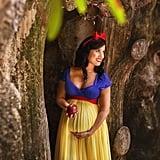 Snow White Maternity Photos