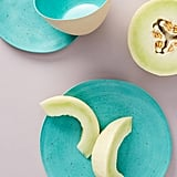 Izzie Bamboo Melamine Dinner Plates, Set of 4
