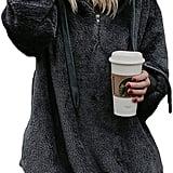 Blencot Oversize Warm Double Fuzzy Hoodie