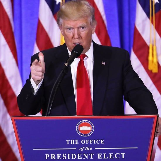 Donald Trump Hosts First Press Conference in 6 Months
