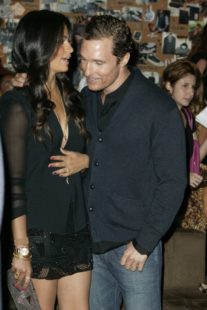 Camila Alves and Matthew McConaughey popped up in Camila's homecountry of Brazil for an event in April 2012.