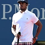 Ne-Yo sang at the US Open.