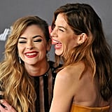 Pictured: Jaime King and Michelle Monaghan