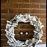 Harry Potter Book Pages Wreath