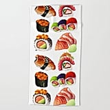 Sushi Beach Towel