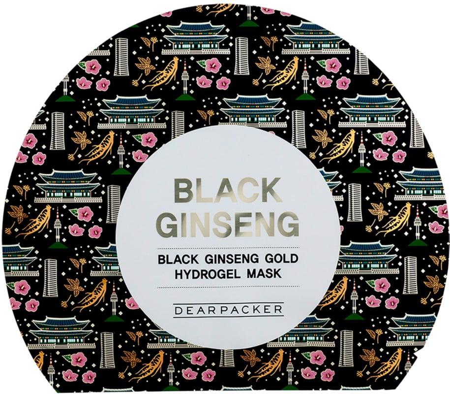 Dearpacker Online Only Black Ginseng Gold Hydrogel Mask