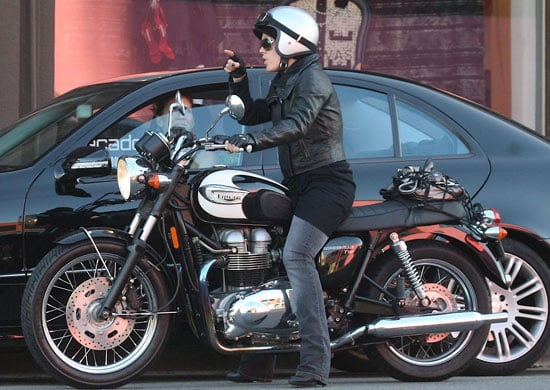 Guess Who, Celebrities Riding Motorbikes