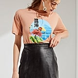 Urban Outfitters Vintage Leather Mini Skirt