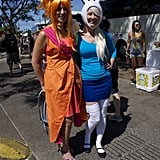 Fire Princess and Fionna From Adventure Time