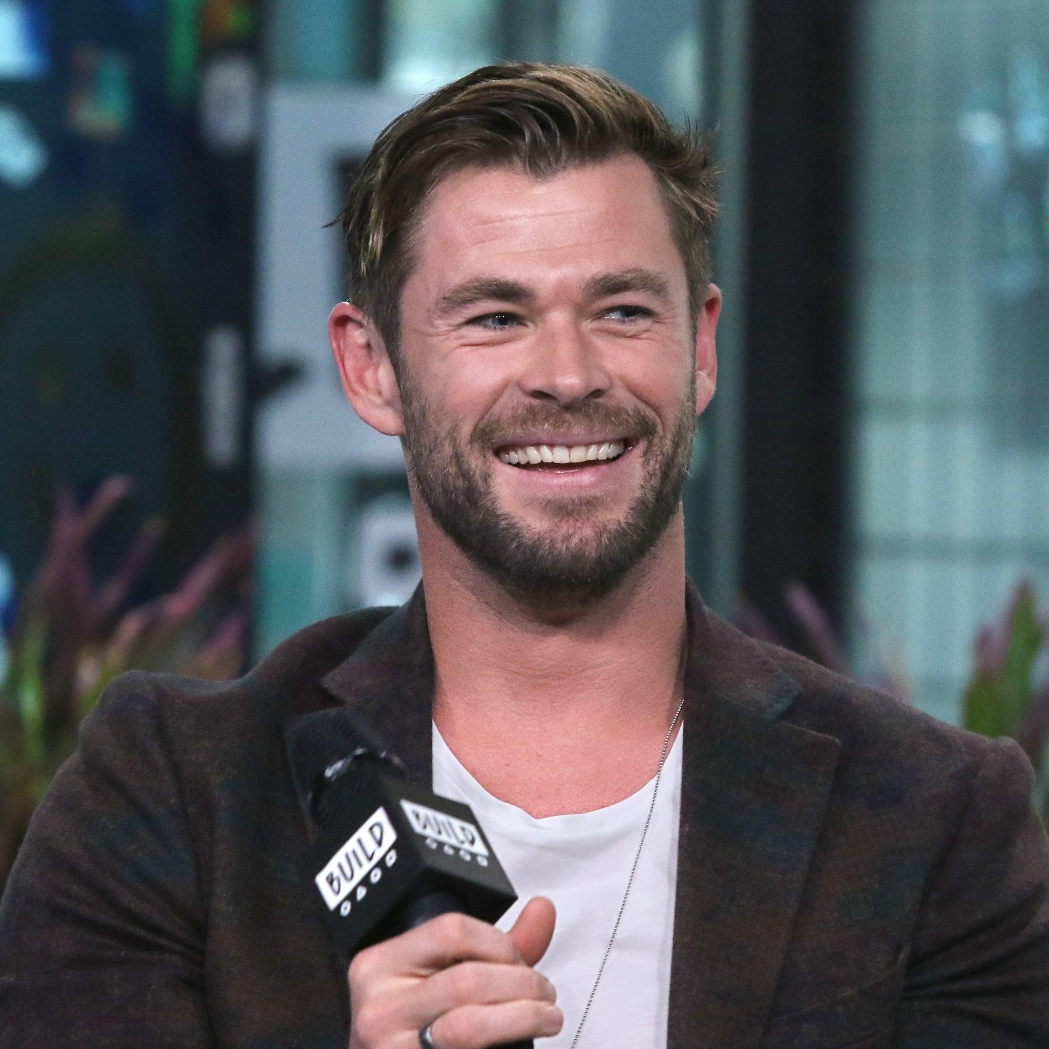 Chris Hemsworth Instagram Weights Workout Video   POPSUGAR Fitness UK