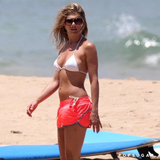 Jennifer Aniston Wearing a Bikini