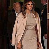 Melania Trump Pink Acne Studios Coat