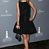 Kiernan Shipka at Catherine Martin's Rodeo Drive Walk of Fame Induction