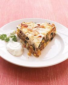 Fast and Easy Tortilla Pie Recipe