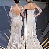 Cameron Diaz and Jennifer Lopez Make a Sexy Statement at the Oscars