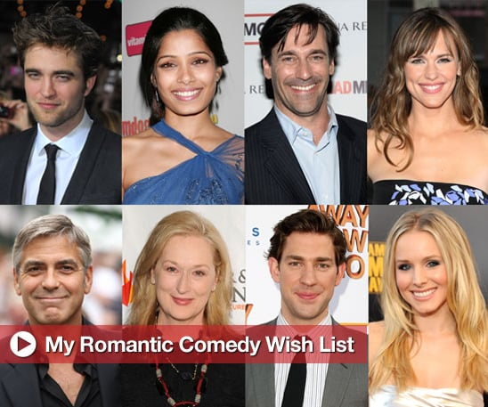 Sugar Shout Out: My Romantic Comedy Wish List