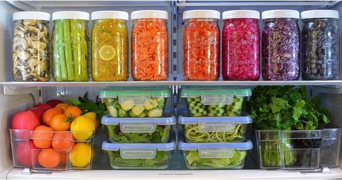 18 Perfectly Meal-Prepped Fridges That'll Speak to Your Super Organized Soul