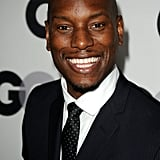 Tyrese Gibson gave his signature smile on the black carpet.