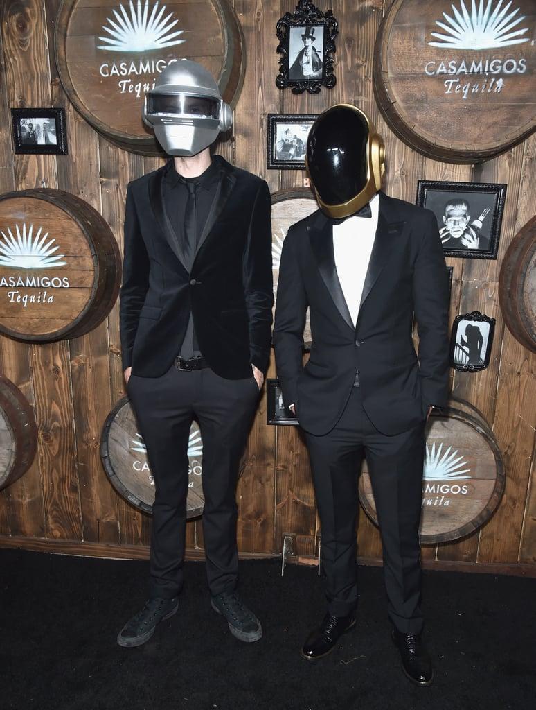 Zedd and a Friend as Daft Punk