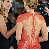 The intricate detailing at the back — stunning.