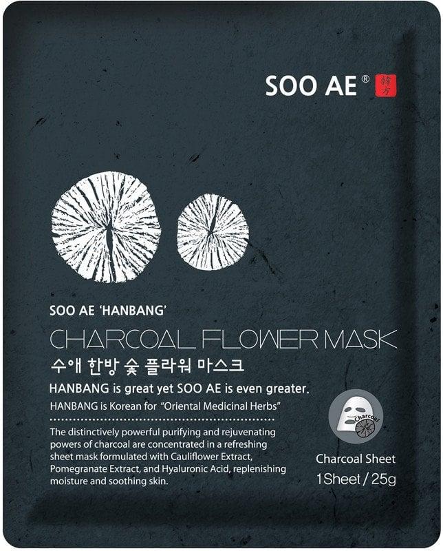 SOO AE Hanbang Charcoal Flower Mask