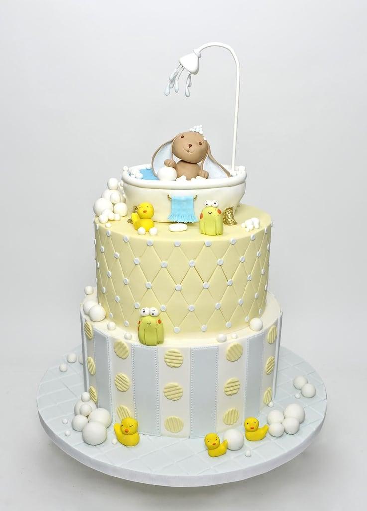 Baby Bath Shower Cake | Pretty Baby Shower Cake Ideas | POPSUGAR ...