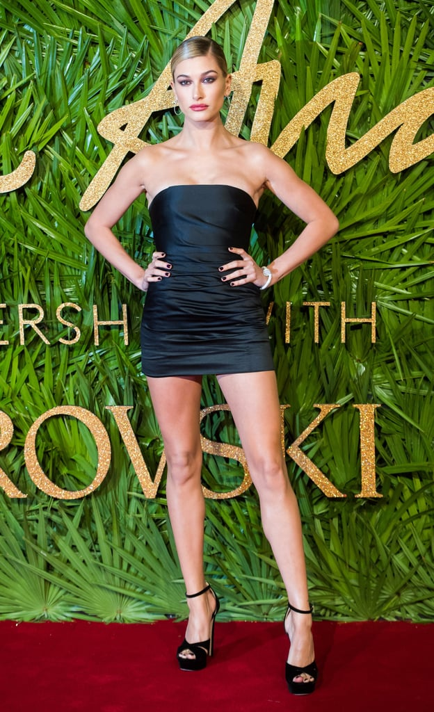 Gowns, Schmowns — Hailey Baldwin's Tiny Topshop Minidress Is All Anyone Can Talk About