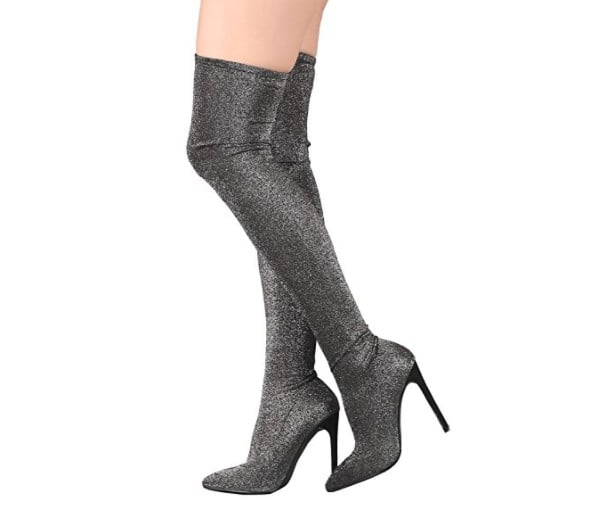Over-the-Knee Boots on Amazon