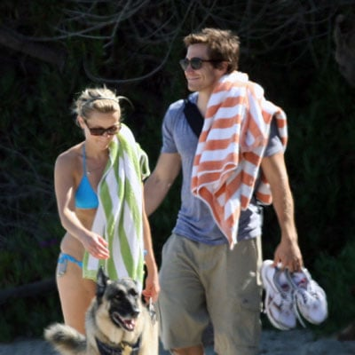 Jake Gyllenhaal and Reese Witherspoon Go to the Beach